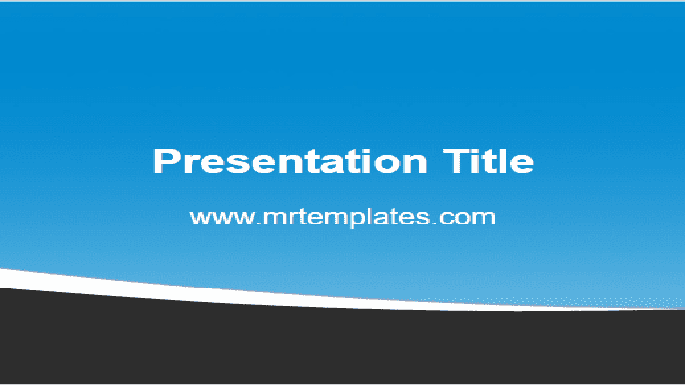 Blue & Grey PowerPoint Template