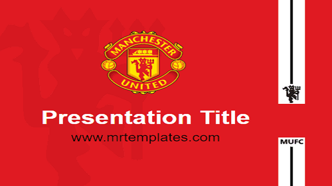 Manchester United PowerPoint Template