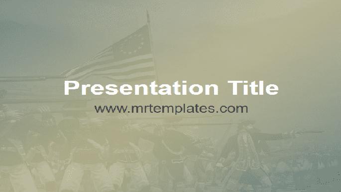 American Revolutionary War PowerPoint Template