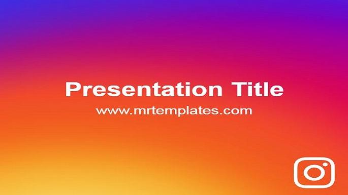 Instagram Powerpoint Presentation