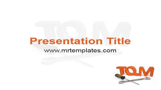 TQM Powerpoint Template