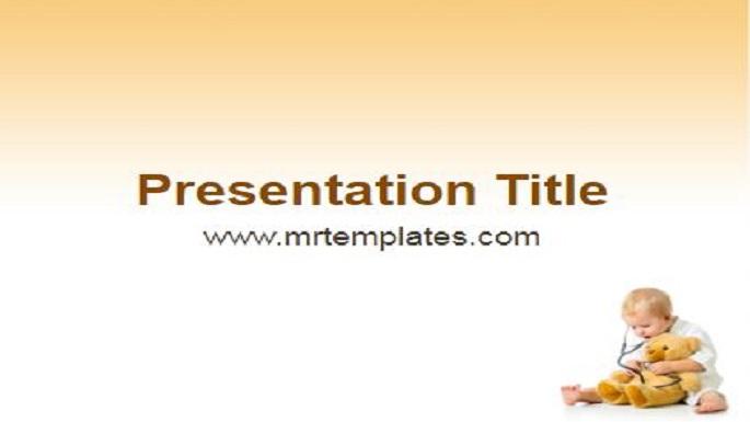 Pediatrics Powerpoint Template