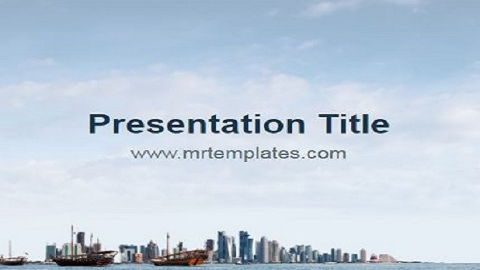 Qatar Powerpoint Template