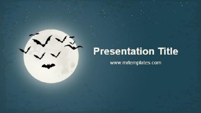 Bats Powerpoint Template