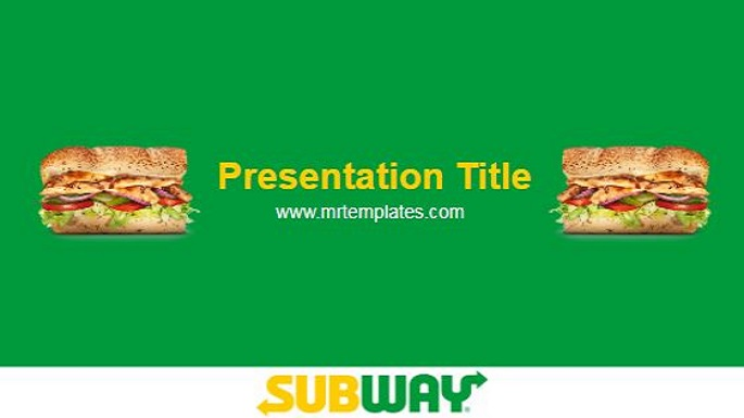 Subway Powerpoint Template