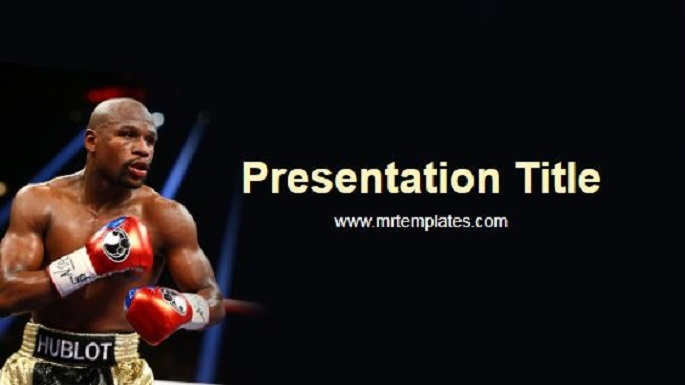 Floyd Mayweather Powerpoint Template