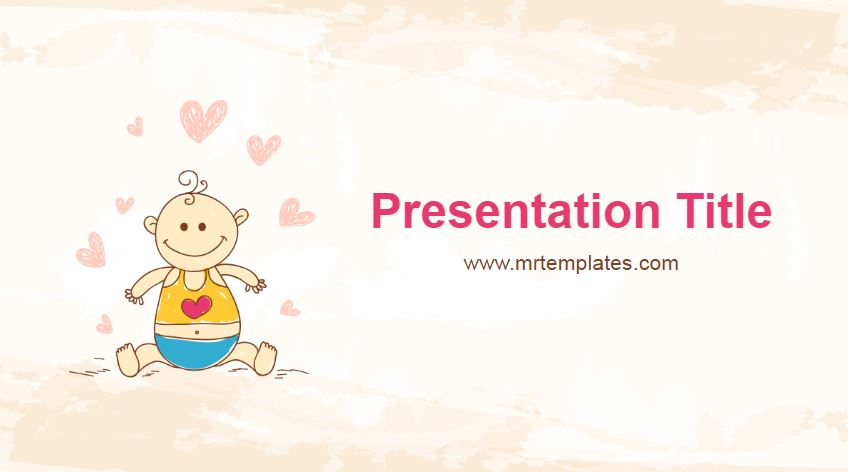 Baby Shower Powerpoint Template