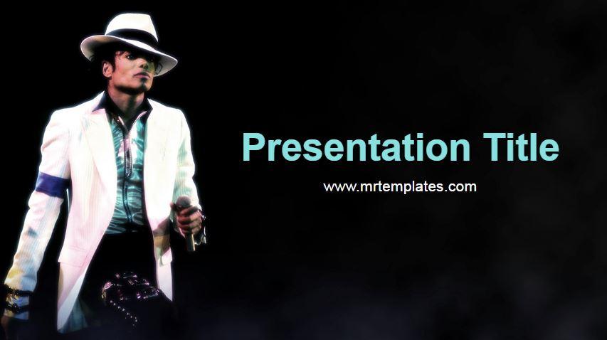 Michael Jackson Powerpoint Template
