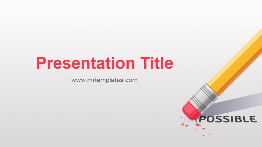 Motivation Powerpoint Template