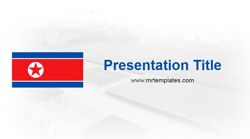 North Korea Powerpoint Template