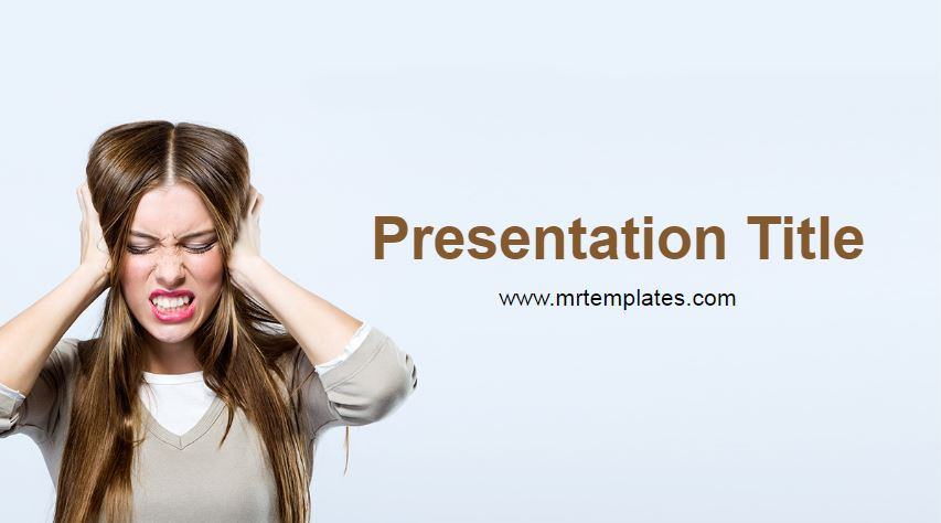 Stress Powerpoint Template