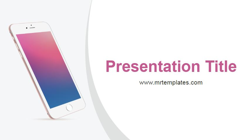 Phone Powerpoint Template