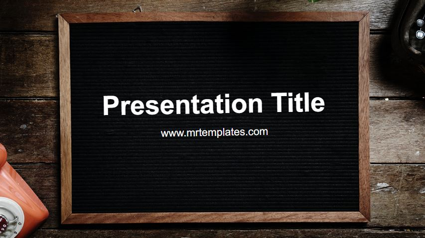 Board Powerpoint Template