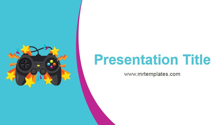 Games Powerpoint Template
