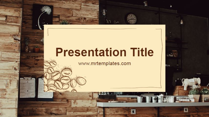 Cafe Powerpoint Template