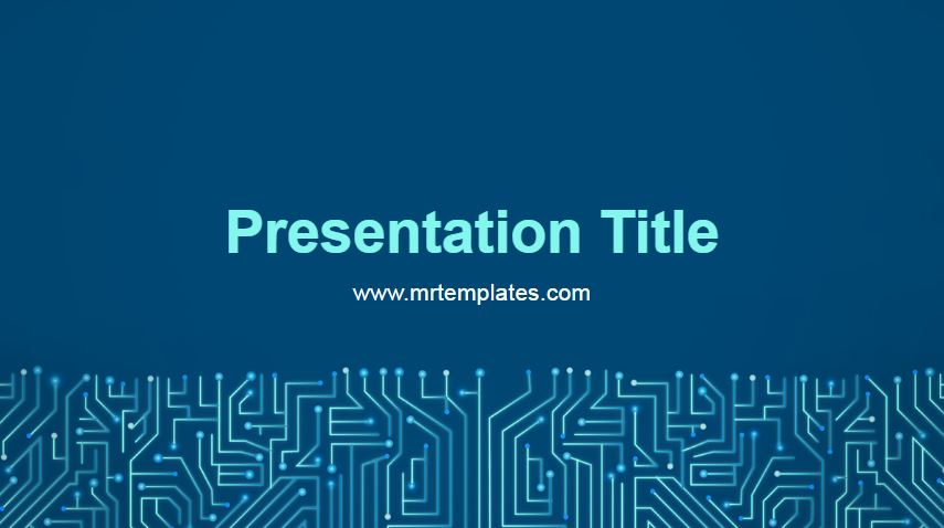 Circuit Powerpoint Template