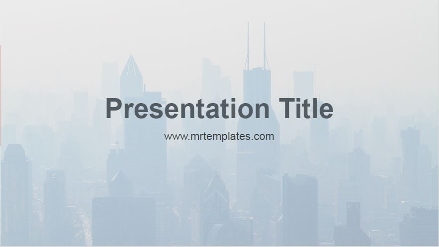 Air Quality Powerpoint Template