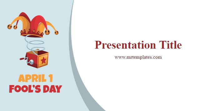 April Fools Day Powerpoint Template