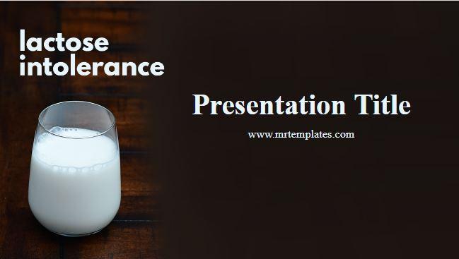 Lactose Intolerance Powerpoint Template