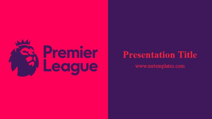 Premier League Powerpoint Template