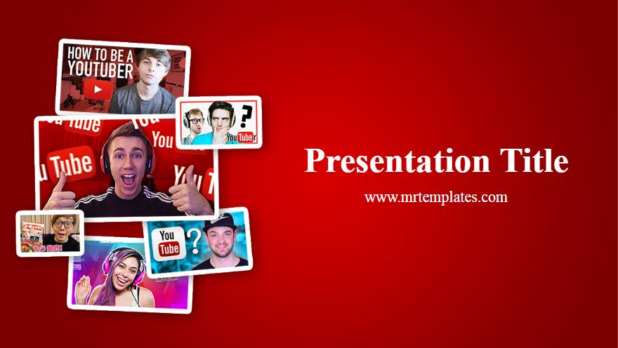 Youtubers Powerpoint Template