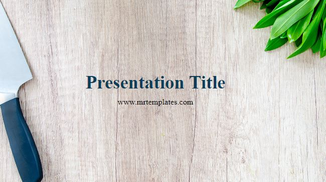 Culinary Powerpoint Template