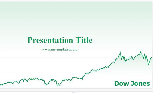 Dow Jones Powerpoint Template