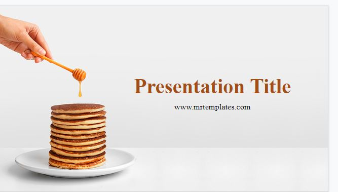 Pancakes Powerpoint Template