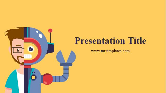 Automated Service Powerpoint Template