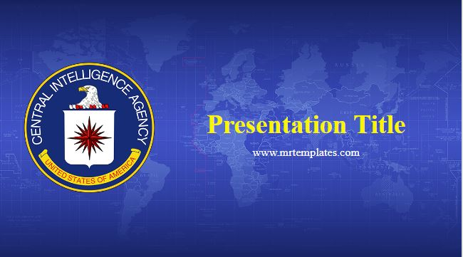 CIA Powerpoint Template