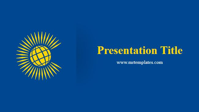 Commonwealth Powerpoint Template