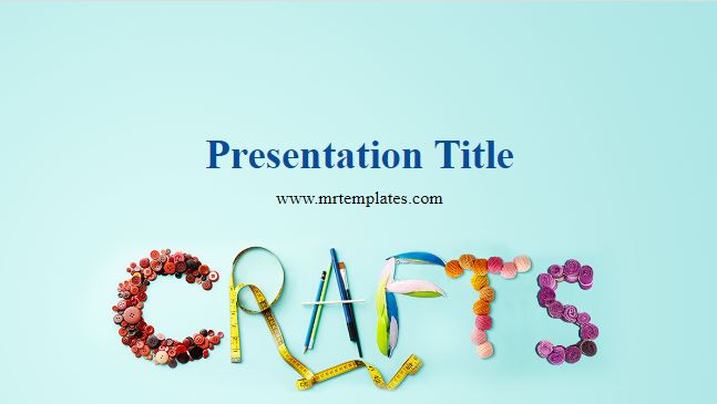 Crafts Powerpoint Template