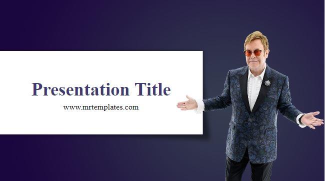 Elton John Powerpoint Template
