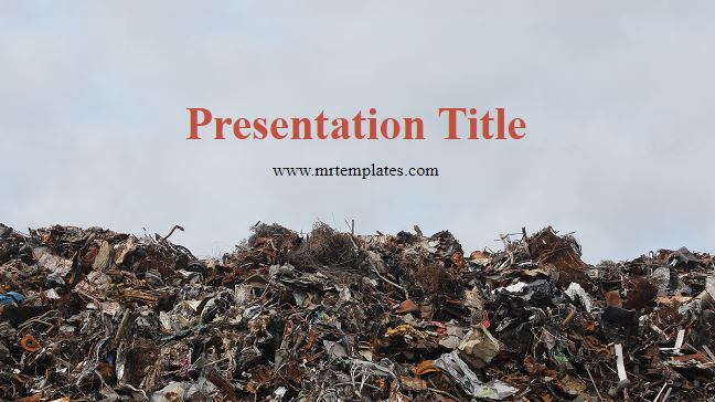Garbage Powerpoint Template