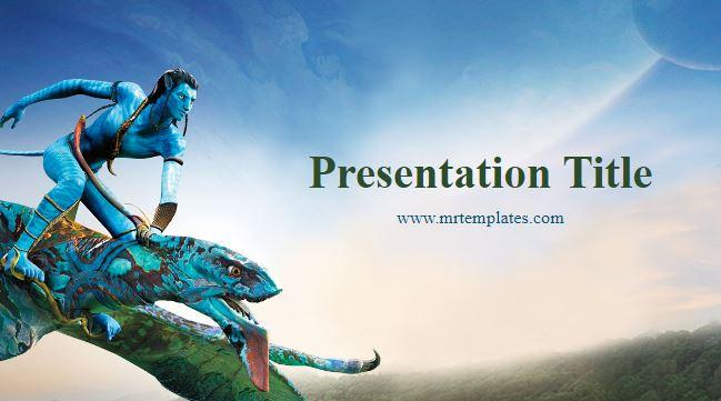 Avatar Powerpoint Template
