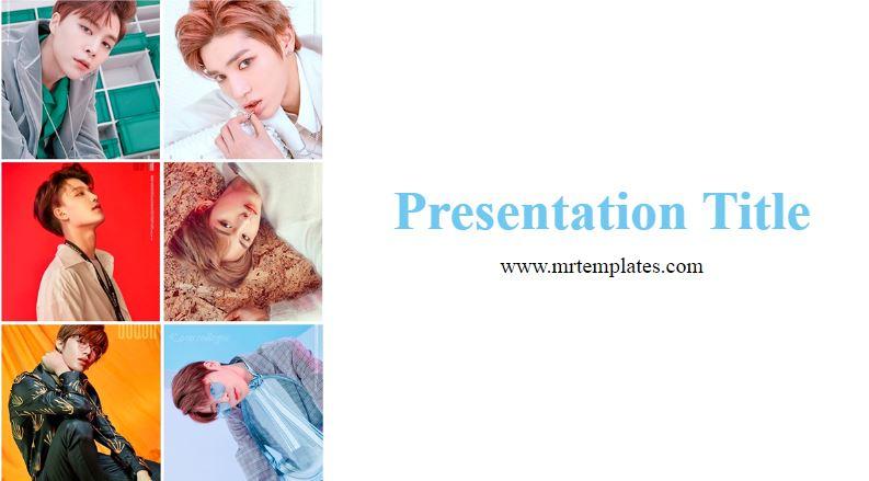 K-Pop PowerPoint Template