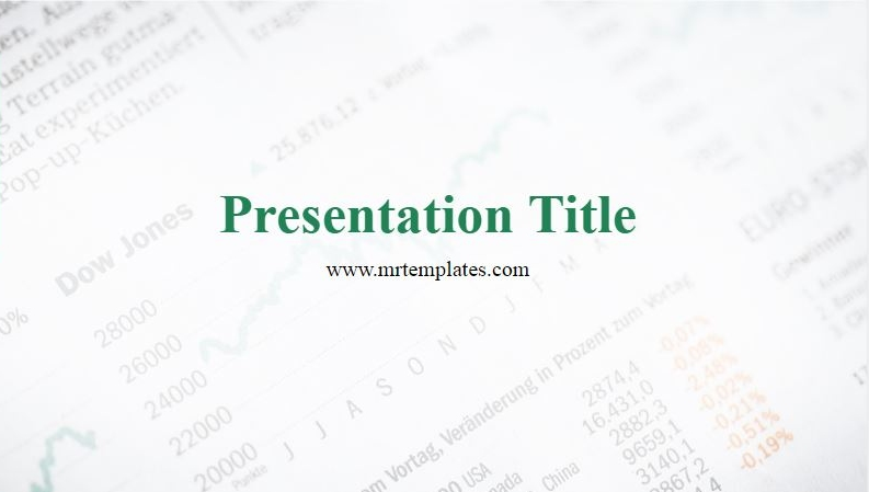 Stock Market PowerPoint Template