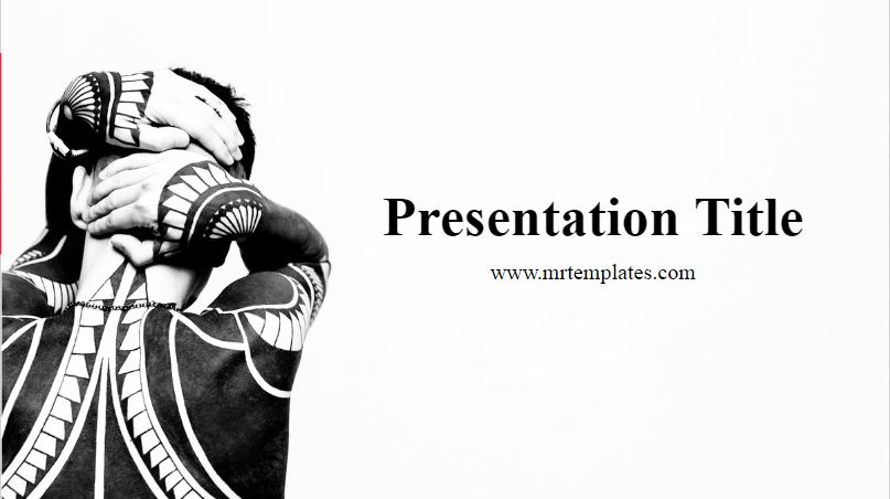 Tattoo PowerPoint Template