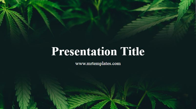 Weed PowerPoint Template