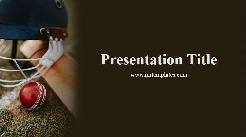 Cricket PowerPoint Template