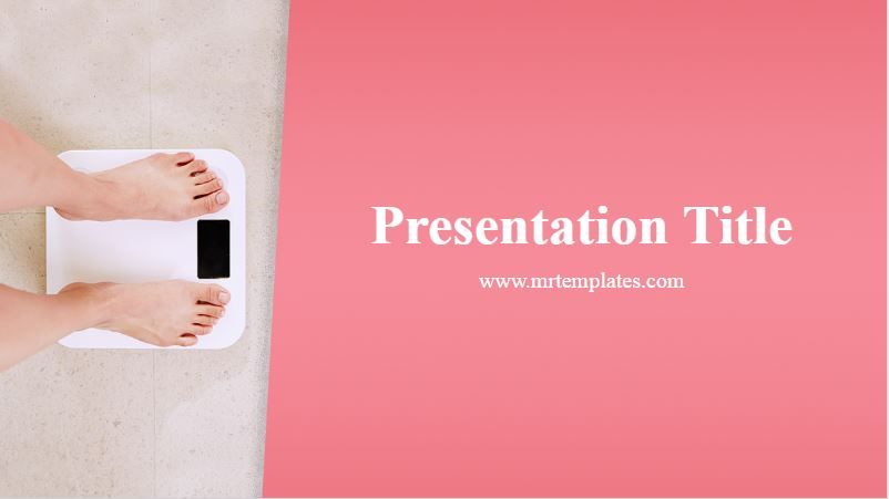 Obesity Powerpoint Template