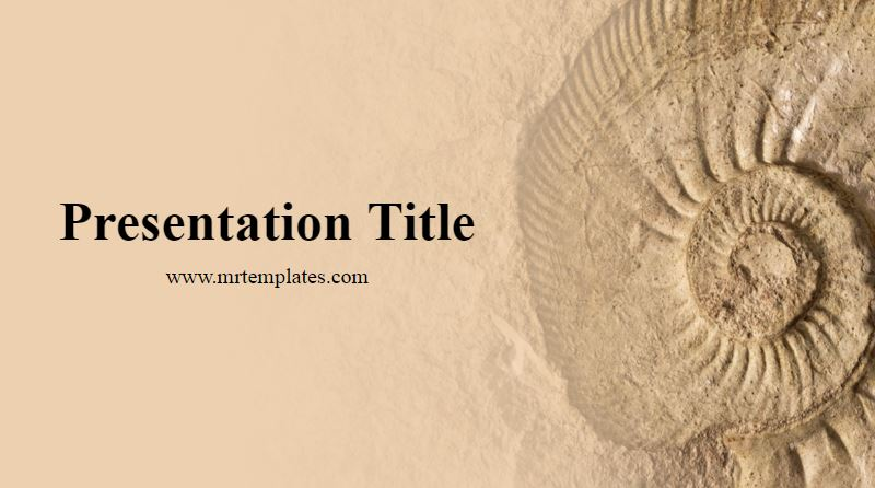 Paleontology Powerpoint Template