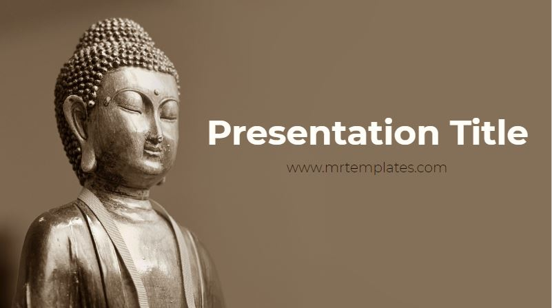 Buddhism Powerpoint Template