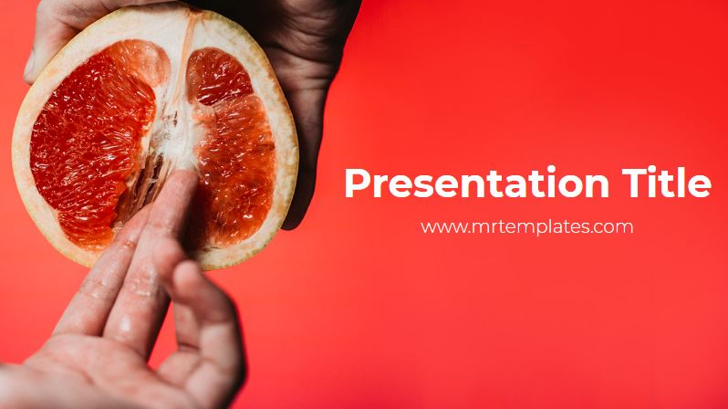 Female Orgasm Powerpoint Template