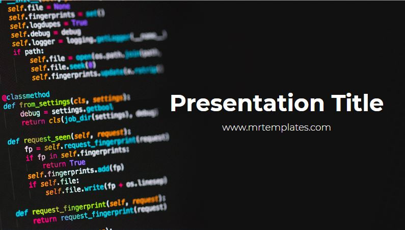 Coding Powerpoint Template