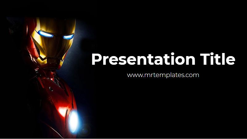 Iron Man PowerPoint Template